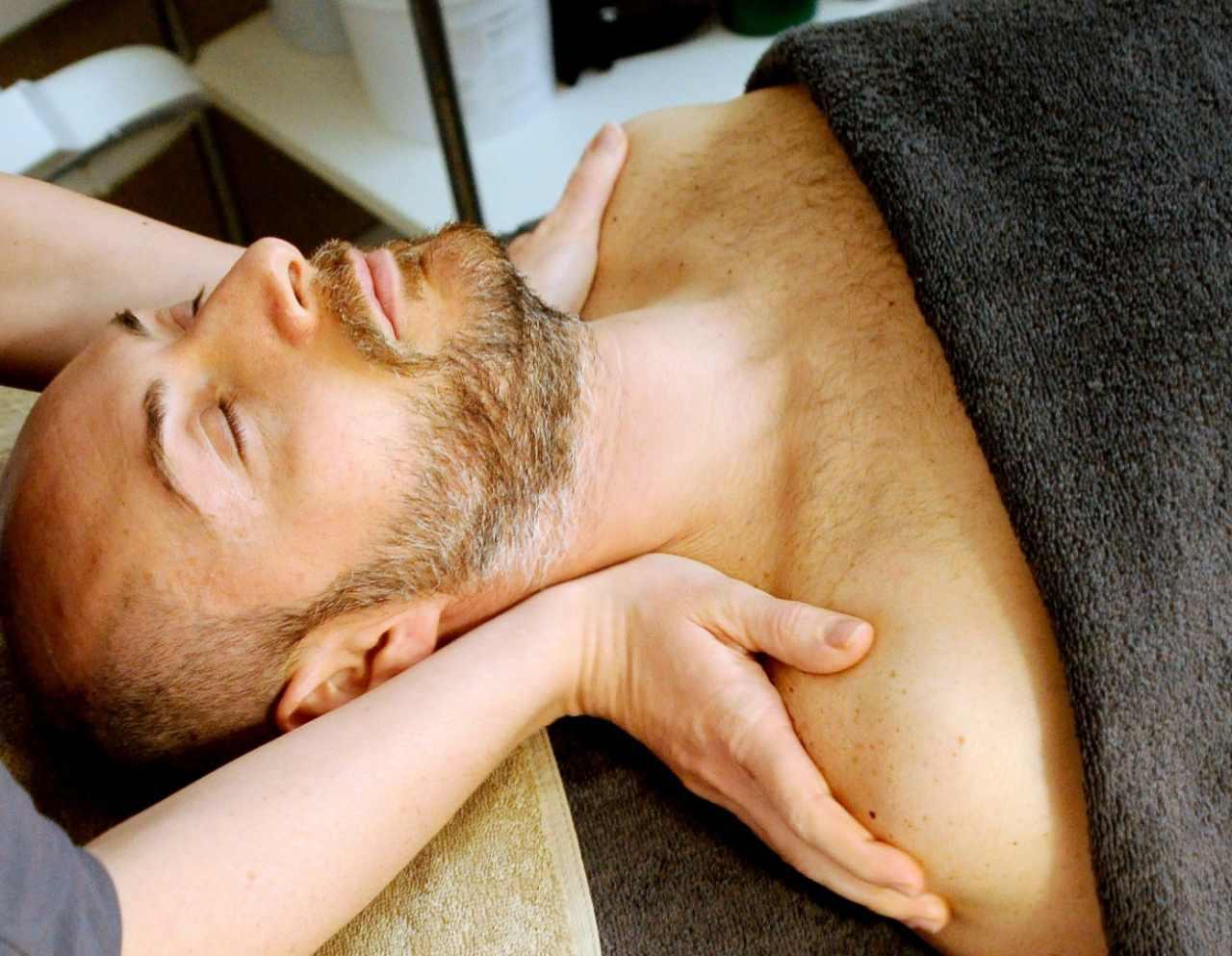 Męski masaż